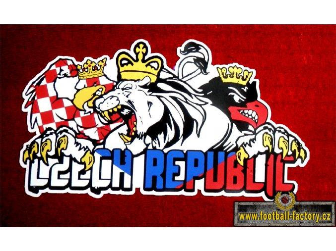 5 Ks Nálepka - Česká Republika