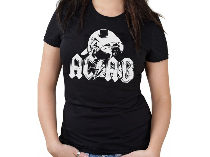 Dámské triko - AC/DC (ACAB)