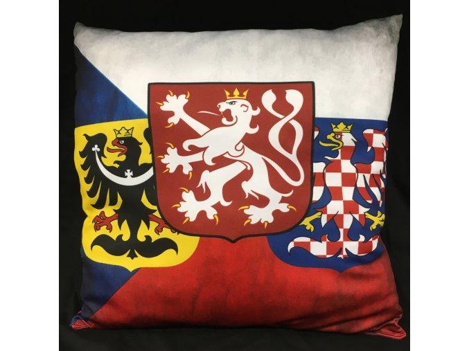 Polštář - ČR znaky