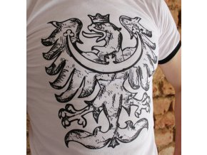 Tričko - Slezsko 17 (KNT) (Velikost XXL, Barvy Černá)