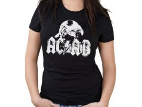 Dámské tričko - AC/DC (ACAB)