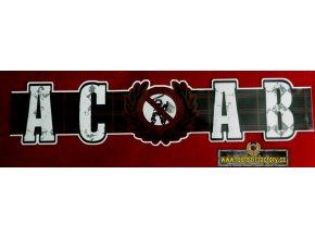Nálepka - ACAB - 45 cm