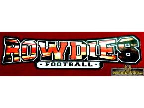 Nálepka - Rowdies - 45 cm