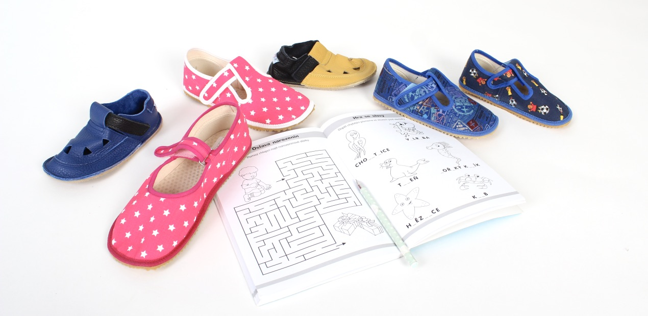 School slippers, house shoes, slip-ons