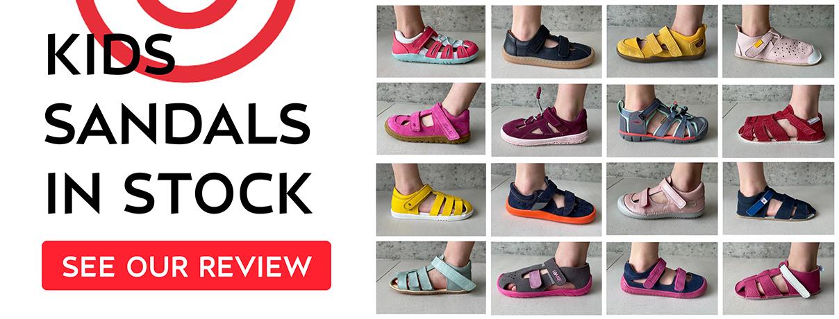 Kids barefoot sandals