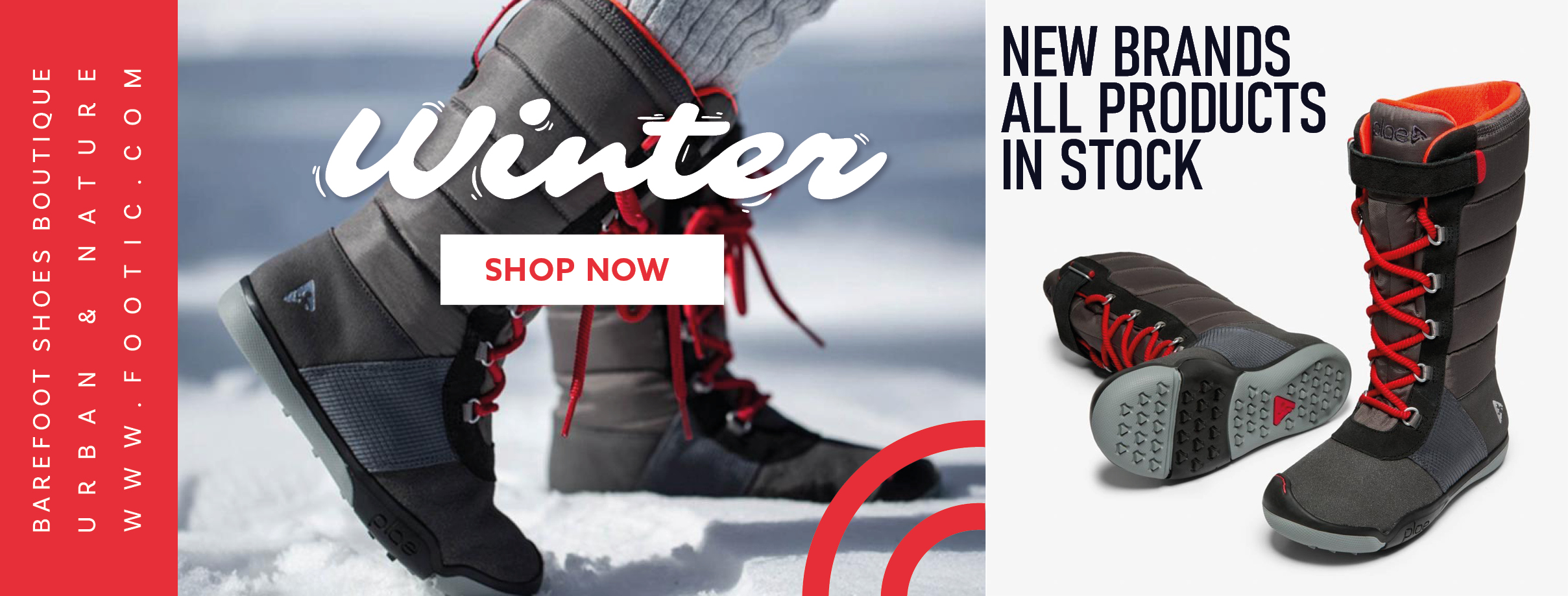 Winter minimalist shoes for kids