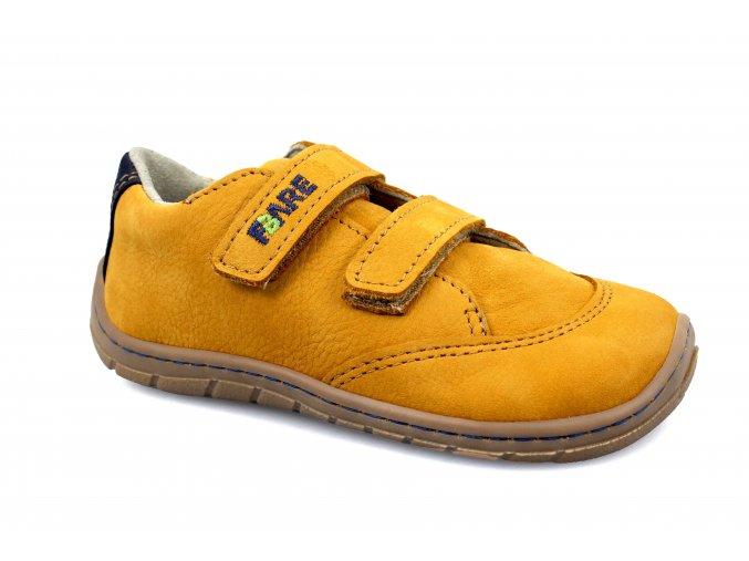 boty Fare 5114281 žluté, 2 suché zipy (bare) (EU size 23, Inner shoe length 152, Inner shoe width 66)