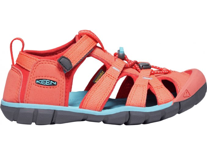 keen coral poppy red