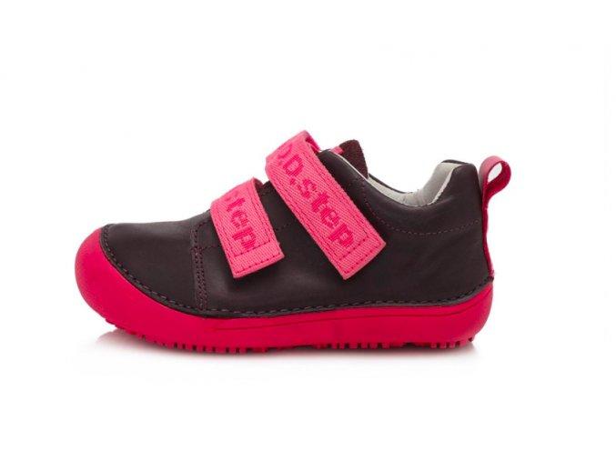 kožené celoroční barefootové boty D.D.Step