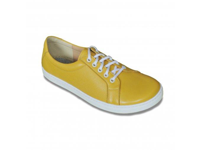 žluté kožené Peerko