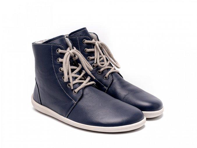 přechodové bareffot boty
