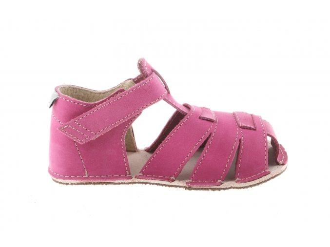 barefootové dívší sandálky