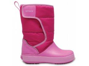 crocs lodgepoint snow boot kids
