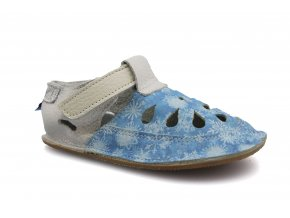 sandály/bačkory Baby Bare IO Snowflakes TS (EU size 19, Inner shoe length 120, Inner shoe width 58)