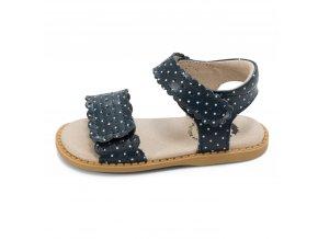 Kids Shoes SS 20 Posey Navy Polka Dot LS