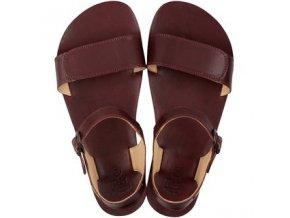 sandály Tikki vibe burgundy
