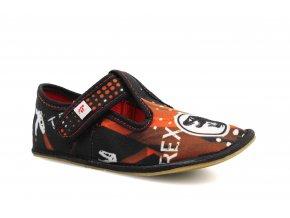 bačkory Ef Rex Black klasik (EU size 24, Inner shoe length 150, Inner shoe width 59)