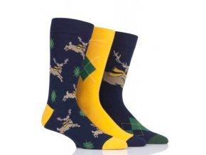 barevné ponožky pánské