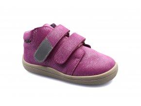 boty Beda Janette třpytky na béžové kotníčkové s membránou (BF 0001/W/M/) (EU size 25)