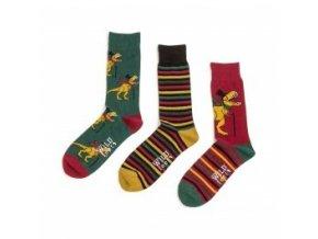 pánské ponožky dinosaurus