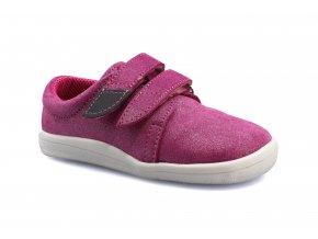 boty Beda nízké Jane s růžovou na bílé podrážce (BF 0001/W/nízký) (EU size 23)