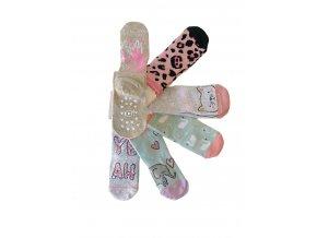 protiskluzové ponožky dreams, 6 párů (Socks size 17-19 EU)