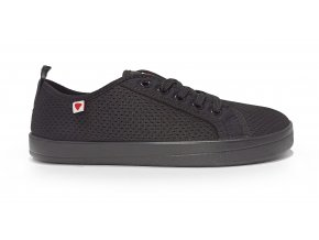 Anatomic All in AM01 black mesh barefoot shoes