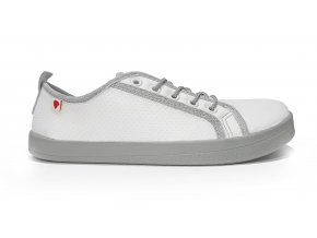 Anatomic All in AM04 white and grey mesh barefoot shoes