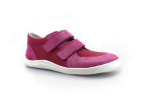 boty Baby Bare Shoes Febo Youth Fuchsia na bílé (EU size 21)