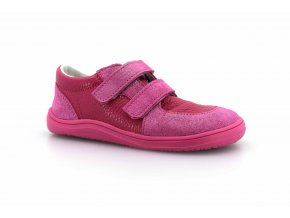 boty Baby Bare Shoes Febo Youth Fuchsia na růžové (EU size 21)