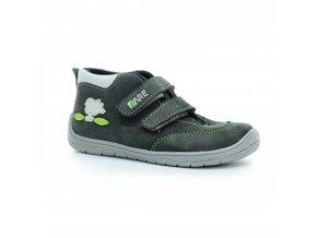 boty Fare B5421261 tm. šedé s ptáčkem kotníčkové (bare) (EU size 23, Inner shoe length 155, Inner shoe width 64)