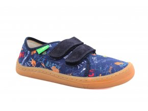 boty Froddo G1700302-1 Blue with signs (EU size 23)