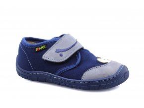 shoes Fare 5111402 blue canvas teddy bear (bare) (EU size 23)