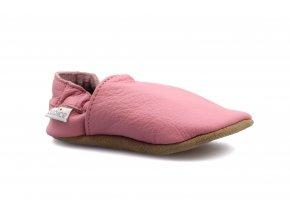 capáčky baBice Plain Pink (EU size 17, Inner shoe length 118, Inner shoe width 57)