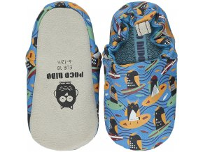breathable textile slippers