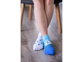 nízké ponožky be lenka Socks Sailboat (Socks size 35-38 EU)