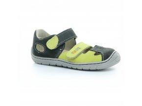 sandály Fare B5461231 zeleno-šedé (bare) (EU size 23, Inner shoe length 155, Inner shoe width 64)