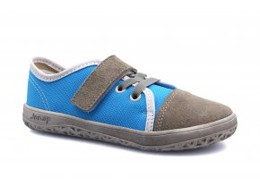 tenisky Jonap Airy šedo-modrá (EU size 21, Inner shoe length 140, Inner shoe width 62)