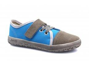 tenisky Jonap Airy šedo-modrá SLIM (EU size 23, Inner shoe length 150, Inner shoe width 65)