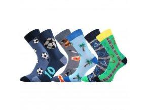 bavlněné chlapecké ponožky