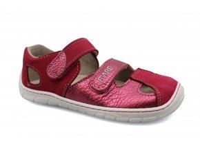 sandály Fare B5561241 červené (bare) (EU size 27)