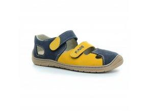 sandály Fare B5561281 modro-žluté (bare) (EU size 27)