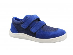 boty Baby Bare Shoes Febo Sneakers Navy on white (EU size 21, Inner shoe length 136, Inner shoe width 61)