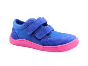 boty Baby Bare Shoes Febo Sneakers Navy/Pink (EU size 21)