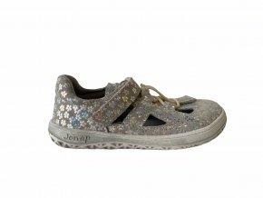 sandály Jonap B9S šedá tisk slim (EU size 21, Inner shoe length 138, Inner shoe width 60)