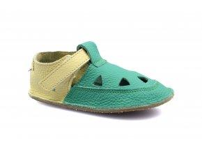 sandály/bačkory Baby Bare Emerald - TS (EU size 19, Inner shoe length 120, Inner shoe width 58)
