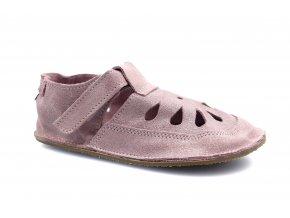 sandály/bačkory Baby Bare Sparkle Pink - TS (EU size 19, Inner shoe length 120, Inner shoe width 58)