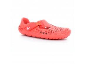 sandály Vivobarefoot Ultra K Fiery Coral (EU size 25)
