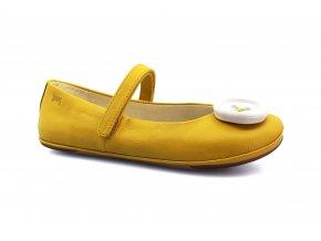 balerínky Camper Sella Marmite, Button Blanco (800464 - 002) AD (EU size 37, Inner shoe length 245, Inner shoe width 86)