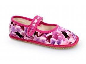 bačkory/balerínky Beda fialový bonbon (BF-060010/BA) (EU size 22, Inner shoe length 140, Inner shoe width 60)